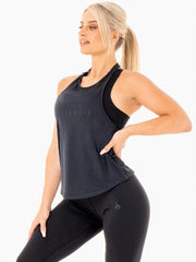 Ryderwear Motion Slinky T-Back - Black