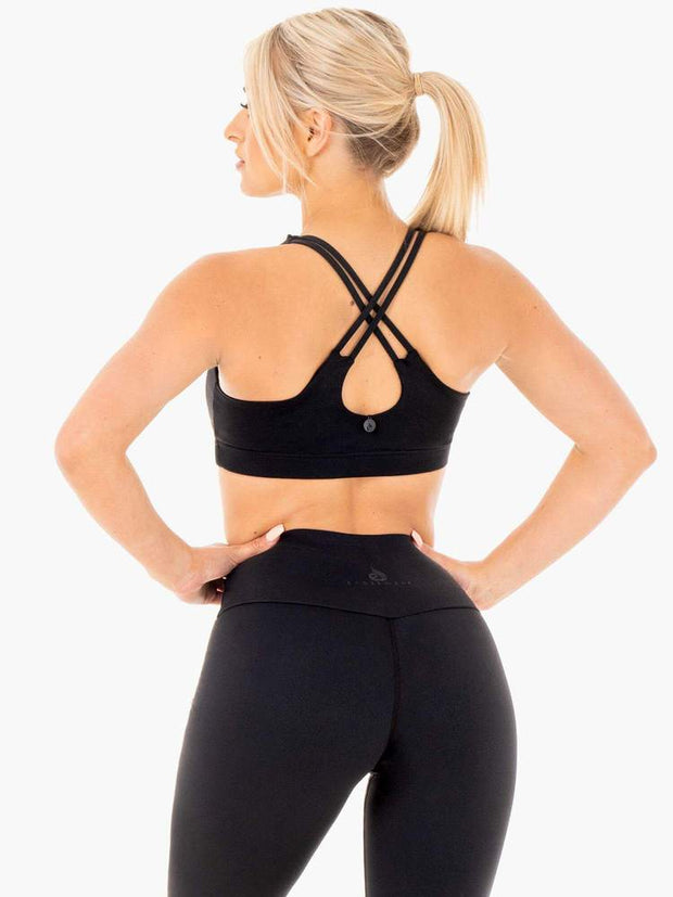 Ryderwear Motion Sports Bra -Black