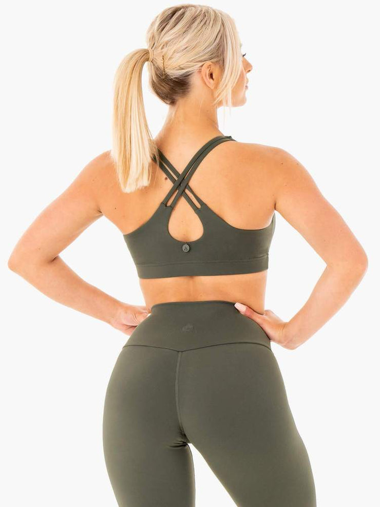 Ryderwear Motion Sports Bra - Khaki