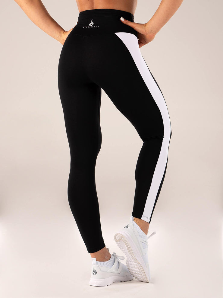 Ryderwear Queen High Waisted Leggings - Black