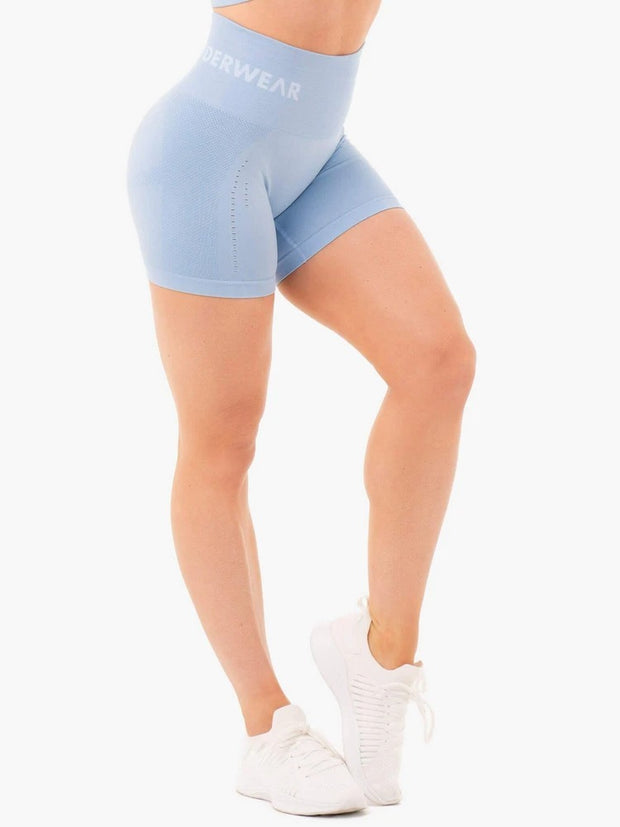 Ryderwear Seamless Staples Shorts - Denim Blue Marl