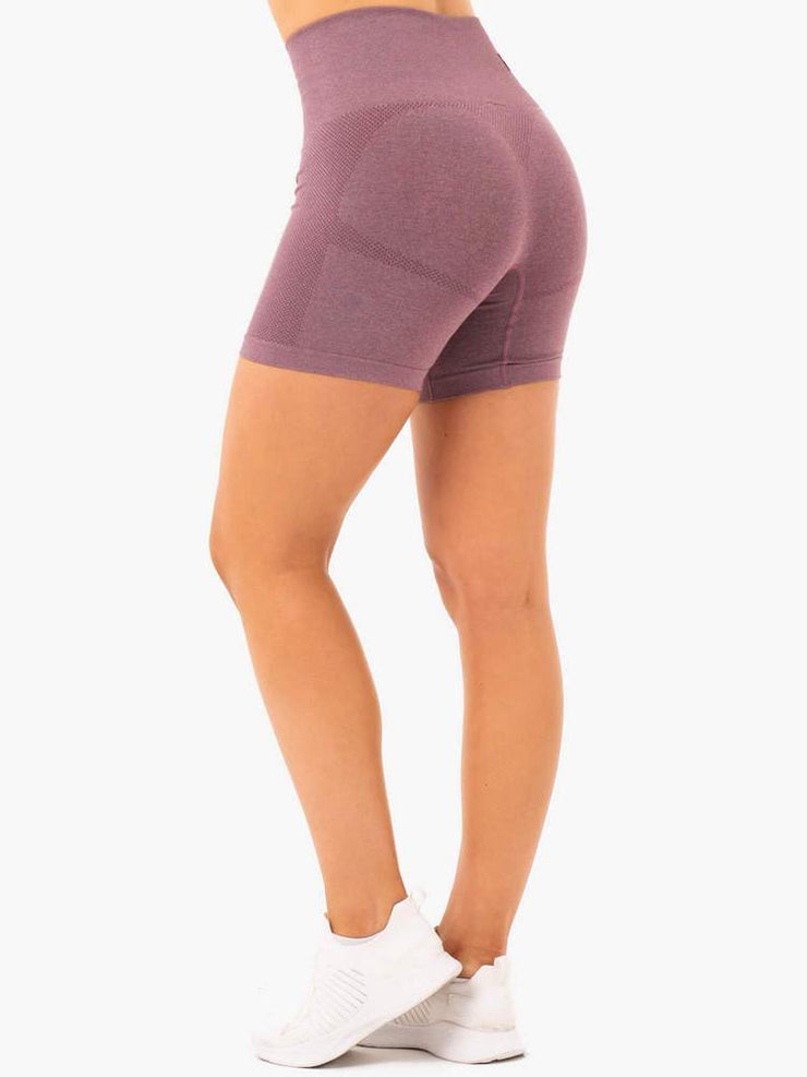 Ryderwear Seamless Staples Shorts - Purple Marl