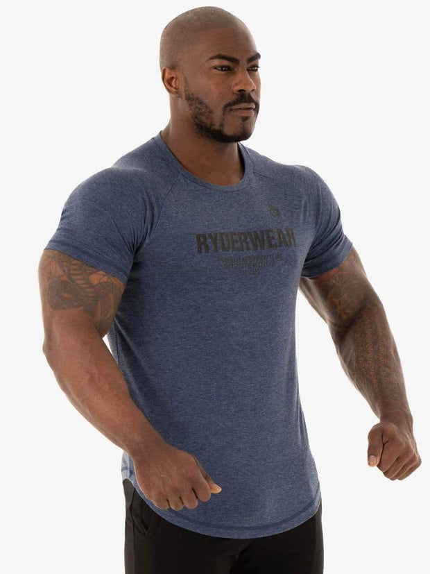 Ryderwear Focus T-Shirt - Navy Marl