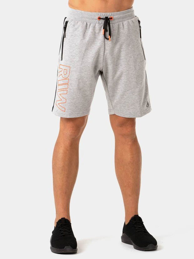 Ryderwear Highway Track Shorts - Grey Marl