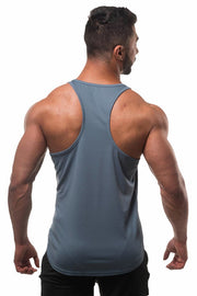 Jed North Microfiber Dri-Fit Stringer - Charcoal Grey