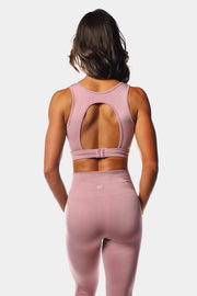 Jed North Luxe Sports Bra - Pink