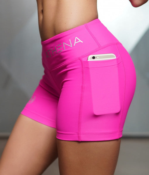 Body Engineers LOTUS Leto 2 in 1 Shorts - Pink
