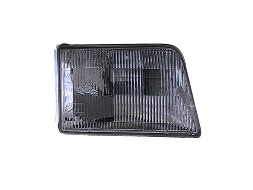 Headlight CAPA Right Passenger Fits 1993-1997 Ford Ranger