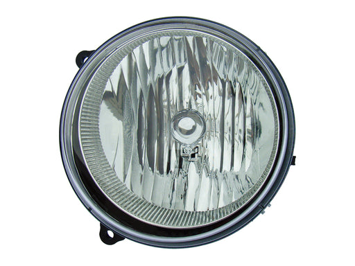 2005-2007 Jeep Liberty (06 w/o HL Leveling) New Passenger Side CAPA Headlight