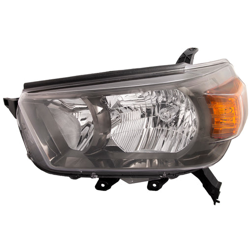 Headlight Trail Model Driver Left NSF Type Assembly Fits 2010-2013 Toyota 4Runner