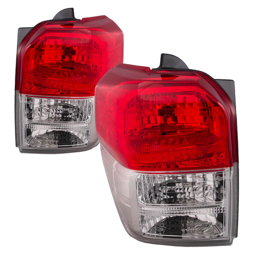 Tail Light Set Left Right Driver Passenger Side Assembly Fits 2010-2013 Toyota 4Runner Limited SR5