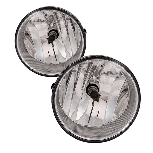 Fog Lights Left and Right Set Pair Fits 2004-2006 Toyota Solara / 05-11 Tacoma / 08-16 Sequoia / 07-13 Tundra