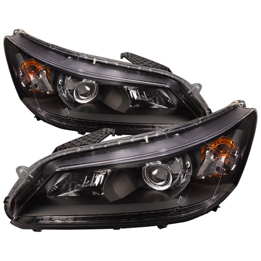 Headlight Halogen Ser Right Passenger Driver Left Pair NSF Fits 2013-2015 Honda Accord Sedan