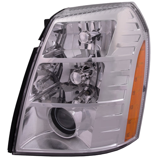Headlight HID w/Bulb and Ballast (09 2nd Design) Driver Left Fits 2009-2014 Cadillac Escalade