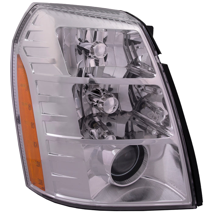 Headlight HID Style (09 2nd Design) Right Passenger Assembly Fits 2009-2014 Cadillac Escalade