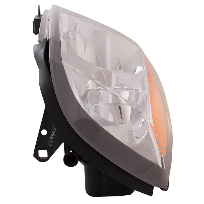 Headlight Halogen Right Passenger Assembly (Will does not Work WIth Factory Hid Option) Fits 2004-2009 Cadillac SRX