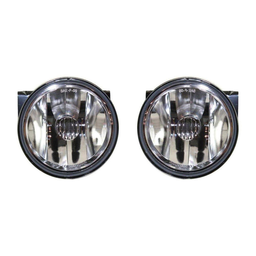 Fog Lights Set Driver Left Passenger Right Pair Fits 1992-1999 Pontiac Bonneville SE