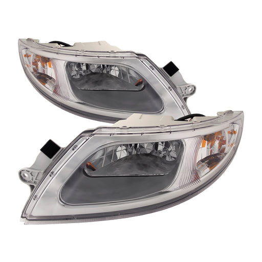 2001-2012 International 4100/4200/4300/4400/2002-2012 International 8500/8600 Halogen Headlights Set