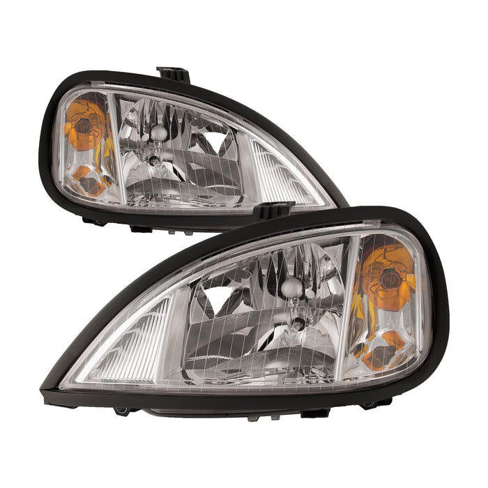 Headlights Halogen Set Fits 2004-2011 Freightliner Columbia (Built After 04/2004)