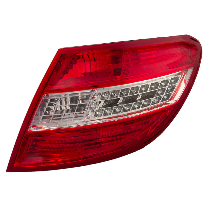 Rear Tail Light LED W/Curve Right Passenger Assembly Fits 2008-2011 Mercedes Benz C-Class