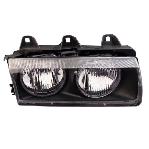 Headlight Halogen Right Passenger Assembly Fits 1992-1999 BMW 318i/318is/1995-1999 318ti/1998-1999 BMW 323i/323is/1992-1995 325i/ 325is/1996-1999 328i/328is