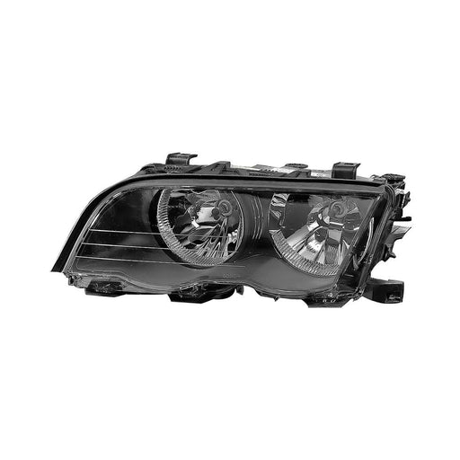 Headlight Left Driver Fits 1999-2000 BMW 323i/328i/2001 BMW 325i/325xi/330i/330xi/E46 4-Door Sedan/Wagon