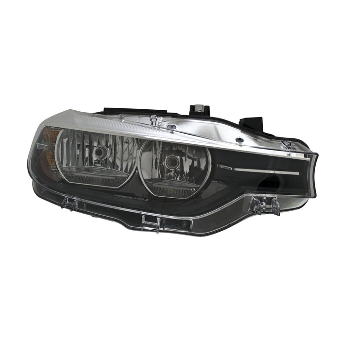 Halogen Headlight Right Passenger Side Headlamp Fits BMW F30 Sedan 320i 328d 328d xDrive 328i 328i xDrive 340i