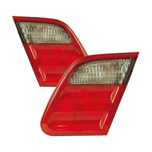 2000-2002 Mercedes Benz E Class E55/E320/E430 Avantgarde Inner Tail Light Sedan Left Right Set Pair
