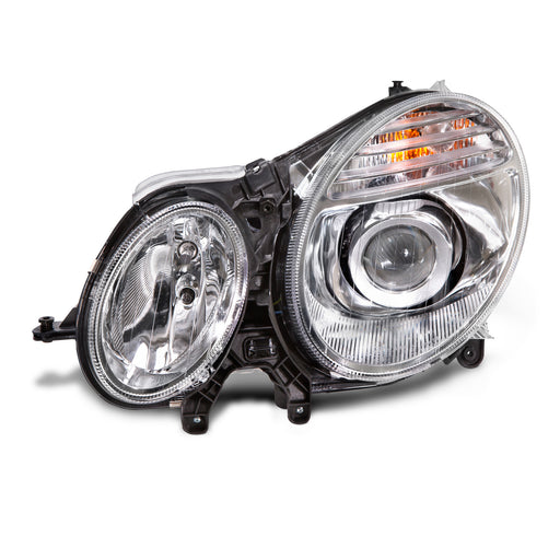 Headlight HID Driver Left Fits 2007-2009 Mercedes Benz E Class W211 (Without Bulb And Ballast) Without Auto Focus Steering (Afs) Or Curve Lighting