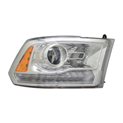 Halogen HID Chrome Quad Projector Headlight Right Passenger Side Headlamp Fits Ram 1500 2500 3500