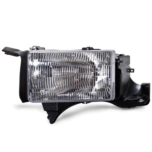 Headlight Left Driver Side Assembly Fits 1994-2001 Dodge Ram 1500/1994-2002 Ram 2500-3500