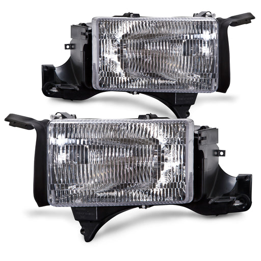 1994-2001 Dodge Ram 1500/1994-2002 2500/3500 New Headlights Pair