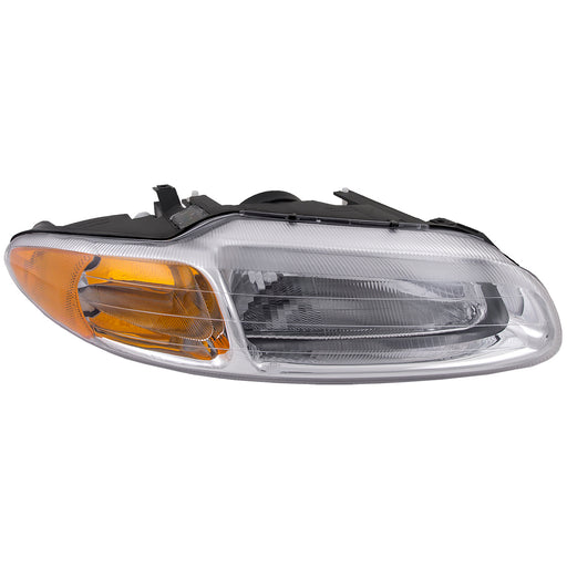 Headlight Halogen Type Passenger Right Fits 1996-2000 Chrysler Sebring JX JXi Convertible