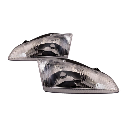 1995-1997 Dodge Intrepid New Headlights Set Driver Left Passenger Right Headlamps Pair Assembly