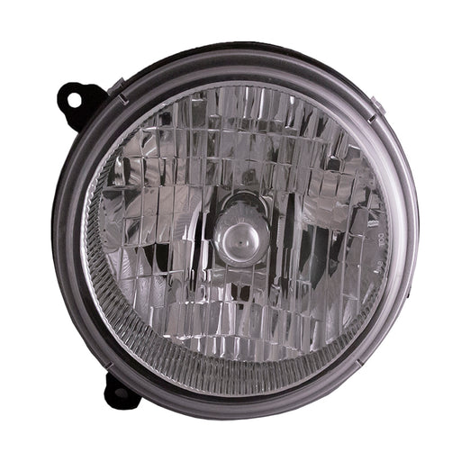 Headlight Halogen Right Passenger Side Assembly Fits 2002-2004 Jeep Liberty