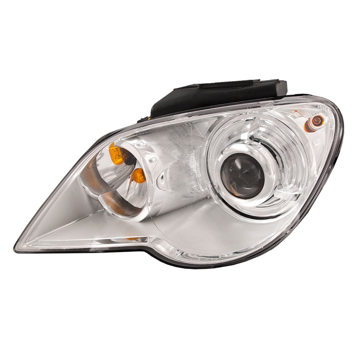 2007-2008 Chrysler Pacifica Headlight HID-Type Headlamp Left Driver Side w/o HID Kit