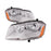 2008-2014 Dodge Avenger 2008-2014 SE SXT Headlights Halogen Set Driver Left Passenger Right Headlamp Pair Assembly New
