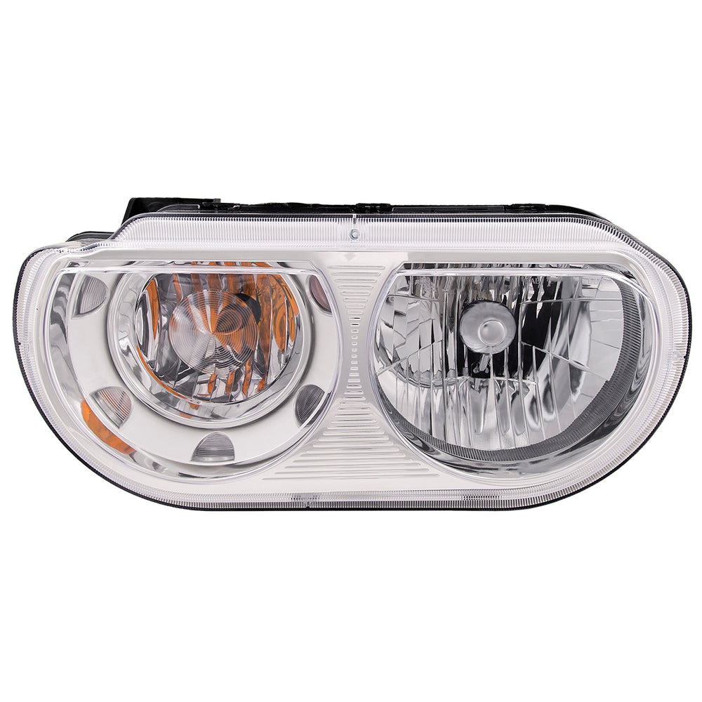 2008-2013 Dodge Challenger Halogen-Type Headlight Driver Side (Non-HID) Left Headlamp Assembly