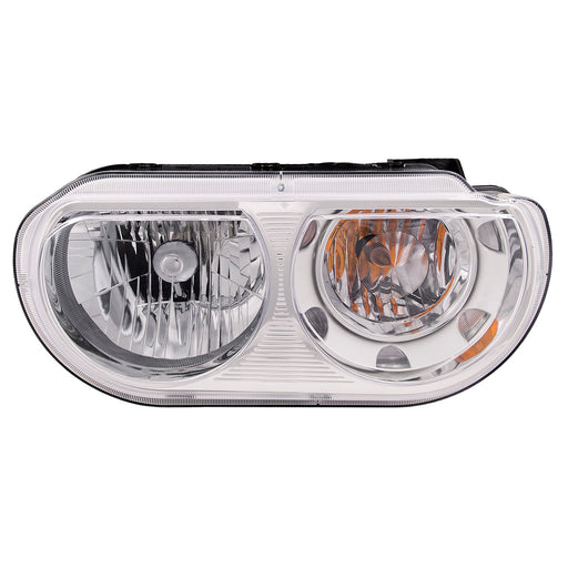Headlight Halogen (Non-HID) Right Passenger Assembly Fits 2008-2011 Dodge Challenger
