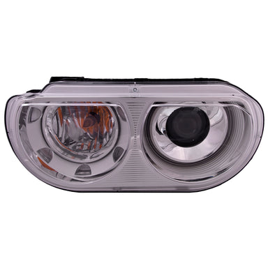 Headlight Left Driver HID Type (w/o Bulb or Ballast) Fits 2008-2011 Dodge Challenger