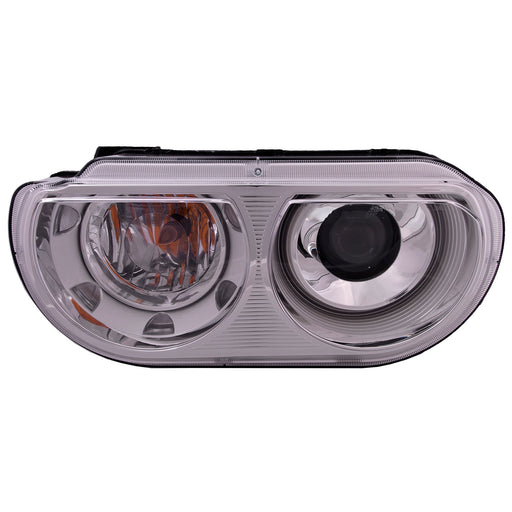 Headlight Left Driver HID Type (w/o Bulb or Ballast) Fits 2008-2014 Dodge Challenger