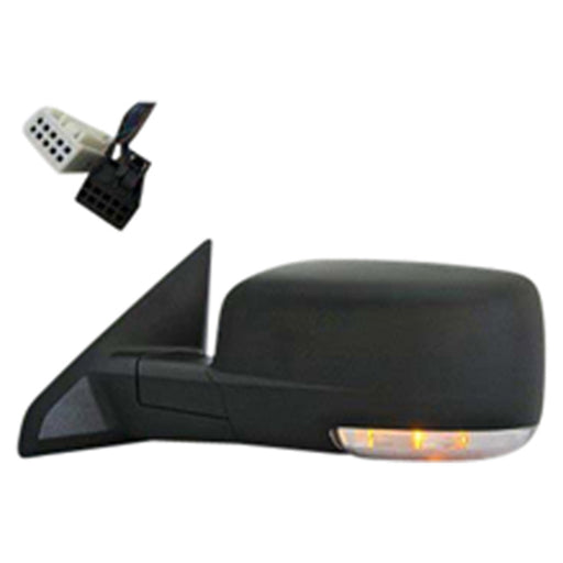 Ram 1500 2500 3500 Left Driver Side Power Door Mirror with Heated Glass