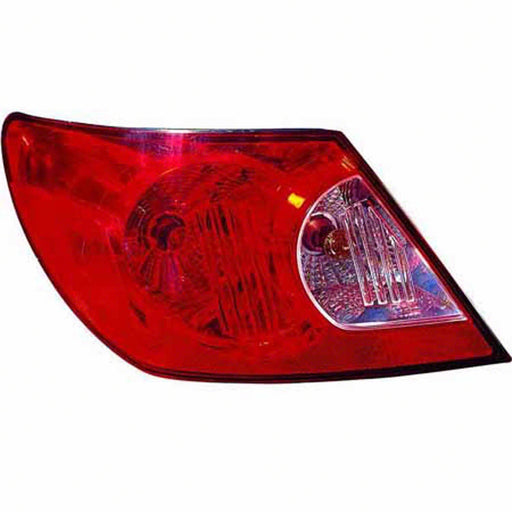 07-08 Chrysler Sebring Left Driver Side Outer Tail Light With Red And Clear