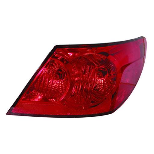 07-08 Chrysler Sebring Right Passenger Side Outer Tail Light With Red And Clear NSF Certified