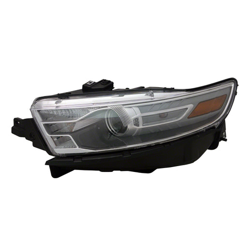 Headlight Left Driver Fits 2013-2015 Ford Taurus (Except SHO Model Fits Vehicles Made Before 01-08-14)