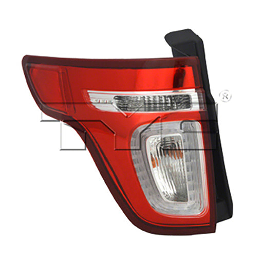 11-15 Ford Explorer Left Driver Side Tail Light Red Lens With Led Red Lens With Led NSF Certified