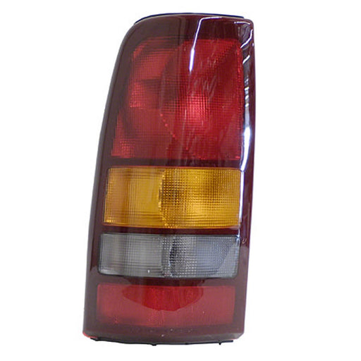99-02 Chevrolet GMC Silverado Sierra 1500 Fleetside Left Driver Side Tail Light