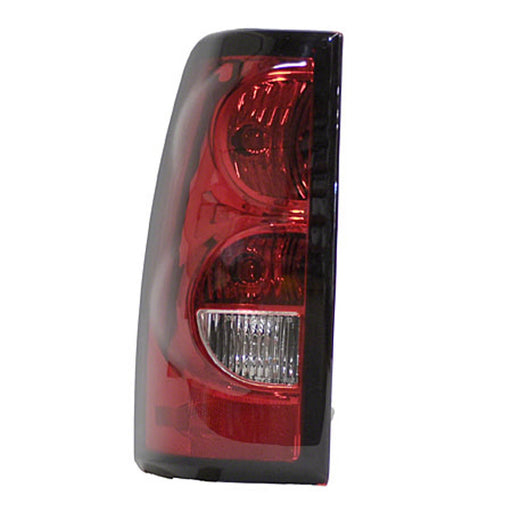 04-06 Chevrolet Silverado 1500 2500 3500 Classic HD Left Driver Side Tail Light With Dark Trim