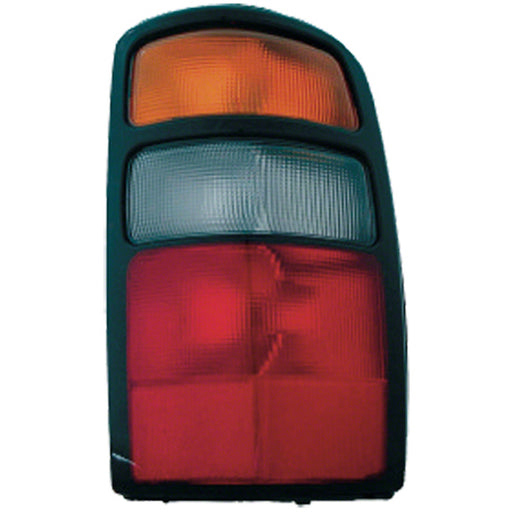 04-06 Chevrolet GMC Suburban Tahoe Yukon 1500 2500 XL 1500 2500 Right Passenger Side Tail Light With Amber/ White /Red Lens