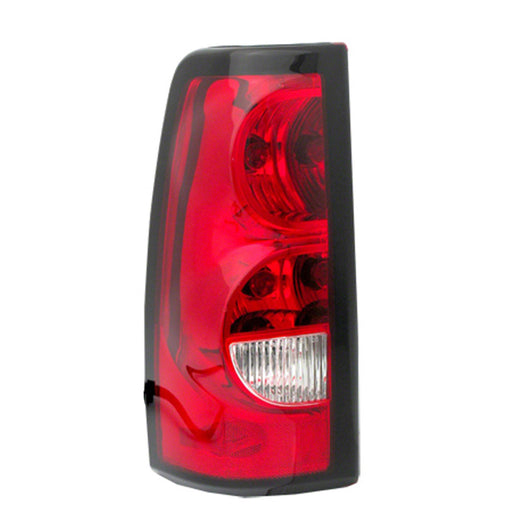 04-06 Chevrolet Silverado 1500 2500 3500 Classic HD Right Passenger Side Tail Light With Dark Trim